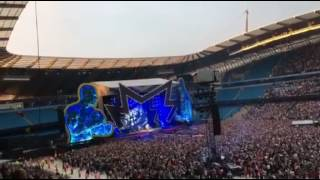 Robbie Williams live Manchester 2nd June 2017
