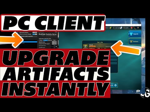 PC client instant artifact upgrade! Never wait around again. Raid Shadow Legends life hacks