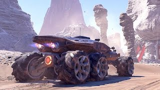 MASS EFFECT ANDROMEDA Tempest and Nomad Trailer