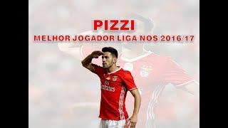 Pizzi - Melhor jogador da Liga NOS 2016/17