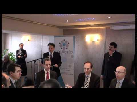 TBMM Başkanı Mehmet Ali Şahin'in Fedactio'yu ziyareti