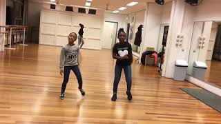 Angel afro dance 1