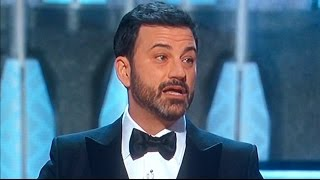 Jimmy Kimmel Trashes Trump at Oscars 2017