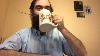 A moustache mug is a coffee mug with a guard to protect your moustache.