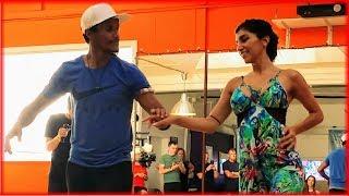 LambaZouk Dance by Leo Bruno & Romina Hidalgo - Filomena Maricoa - Tudo Para Me Babar - Portland
