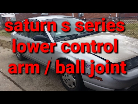 96 - 02 Saturn s series lower control arm/ball joint