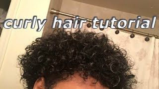 How To Get Curls for Black Men/ Boonk Gang Curls!!