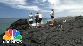 Safety Concerns Rise As Visitors Flock To See Lava Flow In Hawaii | NBC News