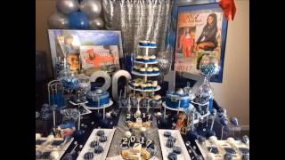Full Denim & Diamonds (Candy & Dessert Table) Graduation Open House Video!!