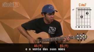 Videoaula Baby, Eu Queria (aula de violão)