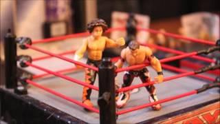 WWE stop motion Evan Bourne VS Carlito
