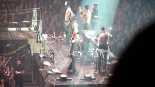 Rammstein, Manchester Evening News Arena (MEN), 1/3/2012