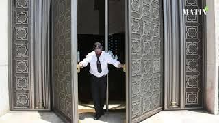 Vaste opération de désinfection pour la réouverture de la Mosquée Hassan II