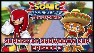 Sonic & All-Stars Racing Transformed - Superstar Showdown Tour: Mara-Car Madness (Episode 3 of 10)