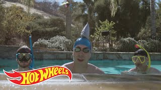 Underwater Wheels! | Big Stunts/Small Cars | Hot Wheels