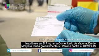 El Programa Comunitario de Vacunación de MN para recibir gratuitamente su Vacuna contra el COVID-19