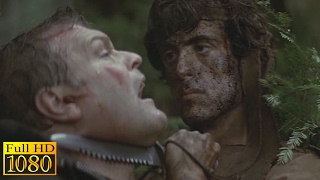 Rambo First Blood (1982) - Forest Hunt Scene (1080p) FULL HD