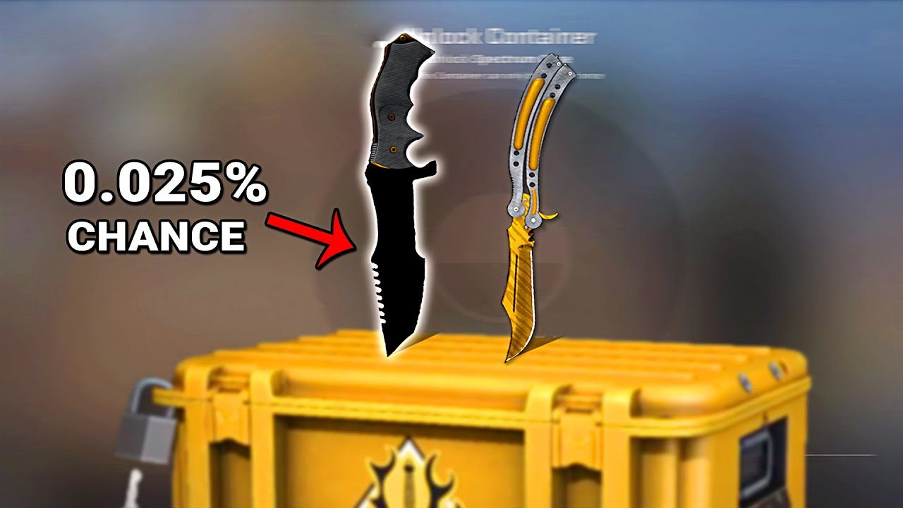 """ChronoYinger - He unboxed 2 KNIVES in ONE NIGHT, but one of them is """"SPECIAL""""  (CS:GO)"""