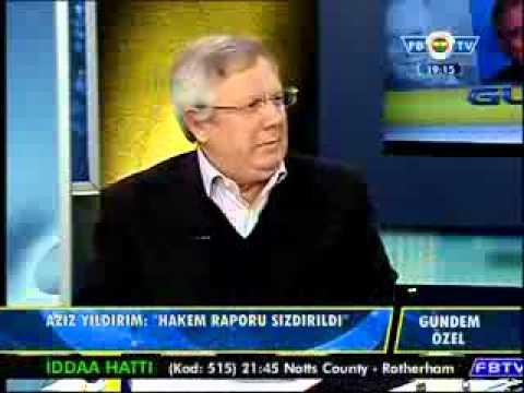 Aziz Yıldırım FBTV'de Bombaladı 18.12.2012