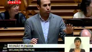 """Pedro Filipe Soares: """"O PS quer ou não quer ser parte da solução?"""""""