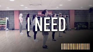 I NEED - Maverick Saber Dance ROUTINE Video | Brendon Hansford Choreography