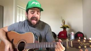 Cody Johnson guilty as can be acoustic cover