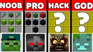 Minecraft Battle: NOOB vs PRO vs HACKER vs GOD : SUPER ZOMBIE Challenge in Minecraft Animation