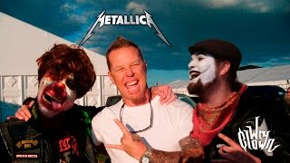 Wry Clown meets Metallica