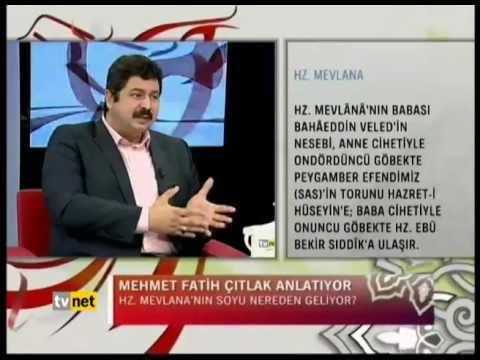 Mesnevi İle İlahi Aşk - 27-05-2012 - Tv Net