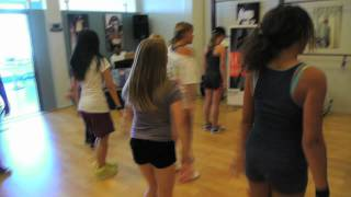 Nick Cooper Vocal Boot Camp (Dance Session with Antonio Hudnell)