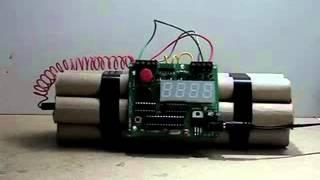 Despertador Bomba Relógio