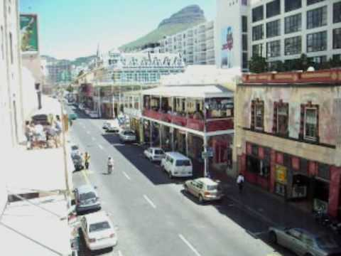 Longstreet in Cape Town on a lazy afternoon