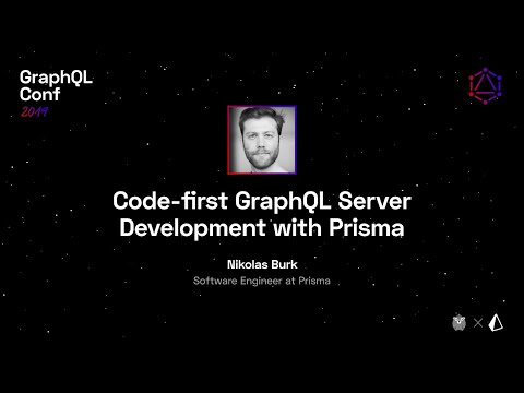 Code first GraphQL Server Development with Prisma