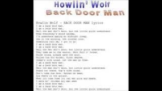 Howlin' Wolf-Back Door Man