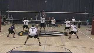 David Gomes - Windsor Lancers 07/08 Season Highlights OUA Volleyball