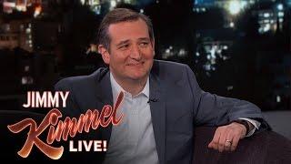 Jimmy Kimmel Asks Senator Ted Cruz Random Questions