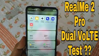 Realme 2 Pro Dual 4G VoLTE Test   Does It Support Two Jio Sim