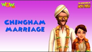 Motu Patlu Vacation Special - Chingam Marriage - As seen on Nickelodeon width=
