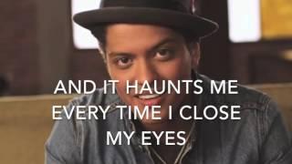 When i was your man - Bruno Mars Karaoke female version (+2) high