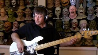 Who's Crying Now Bass Cover width=