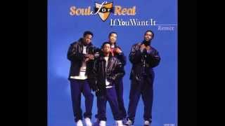 Soul for Real - If You Want It (Bad Boy Remix) (1995)