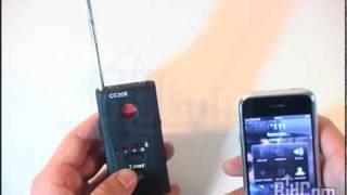 Detector de Frecuencias Camaras Microfonos Celular Espía