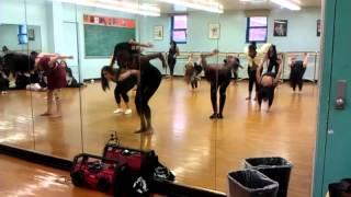 Lights(bassnectar remix)- modern dance begining