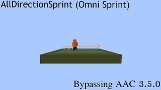 AAC 3.5.0 AllDirectionSprint Bypass lol   LiquidBounce Client