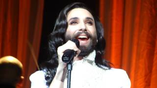 You Are Unstoppable - Conchita Wurst - Brucknerhaus Linz - 10.03.2017