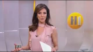 Jornalista Deixa Apresentadora (GLOBO)  com cara MENTIROSA contra DONALD TRUMP
