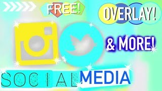 Social media animated green screen! Instagram, Twitter, Pinterest, Subscribe logo and Like Button!
