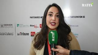 Forum d'Affaires Maroc-France à Dakhla : Déclaration de  Imane Chraibi, Operations Executive at Ark Global