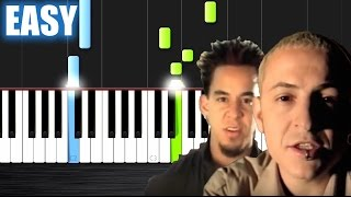 Linkin Park - In The End - EASY Piano Tutorial by PlutaX