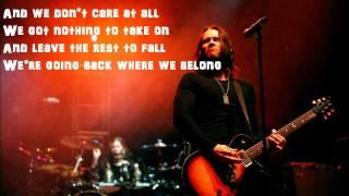 We Don't Care At All by Alter Bridge Lyrics